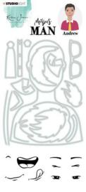 KJ-MBKJ-SCD12 Stamp & Cutting Die Missees By Karin Joan