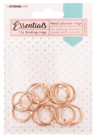 RINGSSL04 Planner Collection - Binding Rings Rose