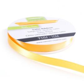 301002-2020 Vaessen Creative satijnlint dubbel 9mm - 10m geelgoud