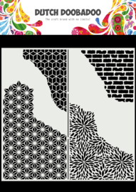 470.715.822 Mask Art Slimline Cracked Patterns