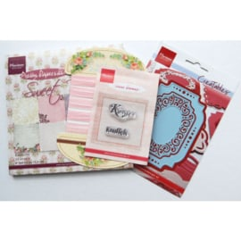 PA4021 Marianne Design products assorti sweet roses NL