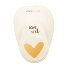 21498-002 Vaessen Creative • Love It Figuurpons hart medium