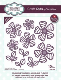CED1532 Creative Expressions mal Whirligig flower