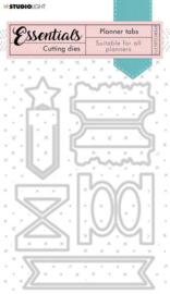 STENCILSL371 Planner Collection - Stansmal Tabs