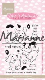EC0177 Clear Stamp Eline's cute puppies