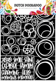 492.948.052 Laser Paper Art Circles  A4
