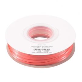 301002-5008 Vaessen Creative • Satijnlint dubbel 3 mm 100m Watermeloen