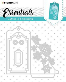STENCILSL318 Die Cut Stencil Label Essential