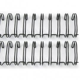 71003-5 Cinch Wires 2,5 cm Zwart