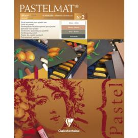 96007C Pastelmat pad n°2 24x30cm 12sh 360g