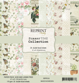 RPP018 Reprint  Collection 6x6 Inch Paper Pack Summer Time