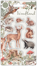 CCSTMP053 Craft Consortium Woodland Animals Stamps