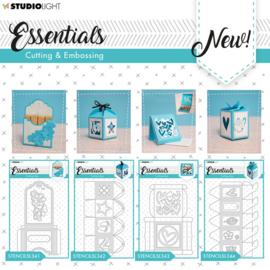 STENCILSL392 Essential stans