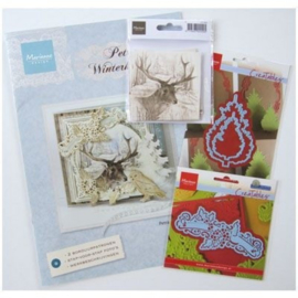 PA4078 Marianne Design products assorti Petra's wintercards