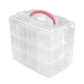 3401-205 Vaessen Creative • Opbergbox met 24 vakjes