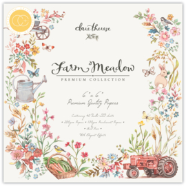 CCPPAD015B Craft Consortium Farm Meadow 6x6 Inch Paper Pad