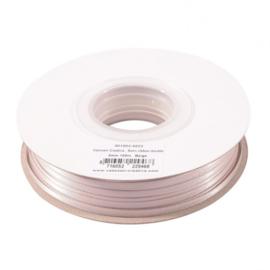 301002-5022 Vaessen Creative • Satijnlint dubbel 3 mm 100m Beige