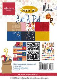 PK9173 Paper set Paper set - Sint & Pin
