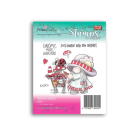 PD8072 Polkadoodles Gnome More Bargains Clear Stamps