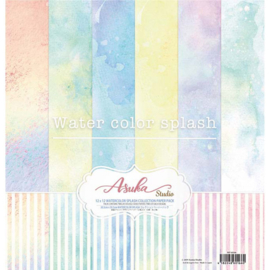 MP-60166 Memory Place Watercolor Splash 12x12 Inch Paper Pack