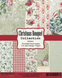RPP041 Reprint  Collection 6x6 Inch Paper Pack Bouquet