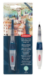 325018/0821 Derwent Push Button Waterbrush Fine