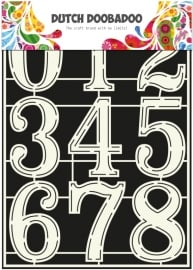470.715.805 Dutch Stencil Art Numbers 2