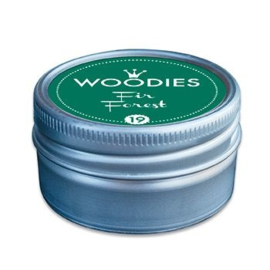 W99019 Woodies Stamp Pad Fir Forest