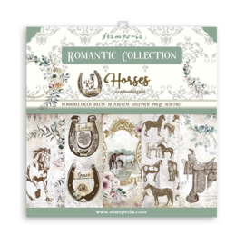 SBBL90 Stamperia Romantic Horses 12x12 Inch Paper Pack