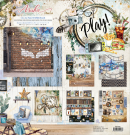 MP-60488 Memory Place Play 12x12 Inch Paper Pack