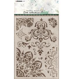JMA-ES-MASK41 Jenine Mask Floral Essentials