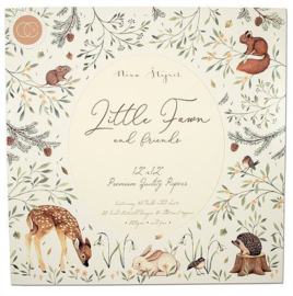 CCPPAD008 Craft Consortium Little Fawn & Friends 12x12 Inch Paper Pad