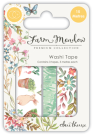 CCWTPE003 Craft Consortium Farm Meadow Washi Tape
