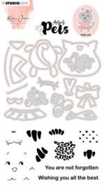 KJ-MBKJ-SCD03 Stamp & Cutting Die Missees By Karin Joan