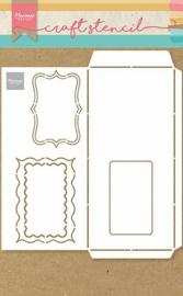 PS8079 Craft Stencil Envelope Slimline