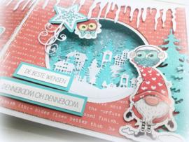 3003/0001 Bella Lulu Stansvel Feliz Navidad