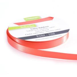 301002-2008 Vaessen Creative satijnlint dubbel 9mm - 10m watermeloen