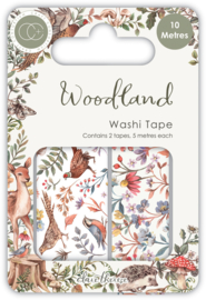 CCWTPE007 Craft Consortium Woodland Washi Tape