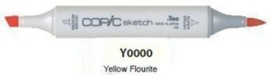 Y0000 Copic Sketch Marker Yellow Fluorite
