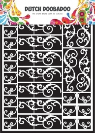 472.948.006 Laser Paper Art A5 wit Swirls