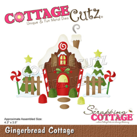 CC-827 Scrapping Cottage Gingerbread Cottage