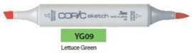 YG09 Copic Sketch Marker Lettuce Green