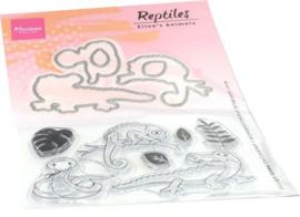 EC0181 Clear Stamp & Die reptielen