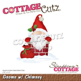 CC-804 Scrapping Cottage Gnome with Chimney