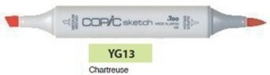 YG13 Copic Sketch Marker Chartreuse