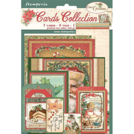 SBCARD07 Stamperia Classic Christmas Cards