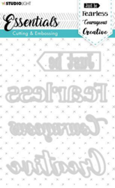 STENCILSL269 Studio Light Embossing Die Cut Essentials