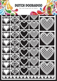 472.948.001 Laser Paper Art A5 wit Hearts
