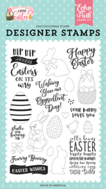 LEA205043 Echo Park Funny Bunny Clear Stamps