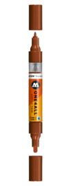 092 ONE4ALL Acrylic twin marker Hazelnut brown